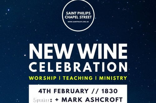 Bishop Mark Ashcroft New Wine Celebration