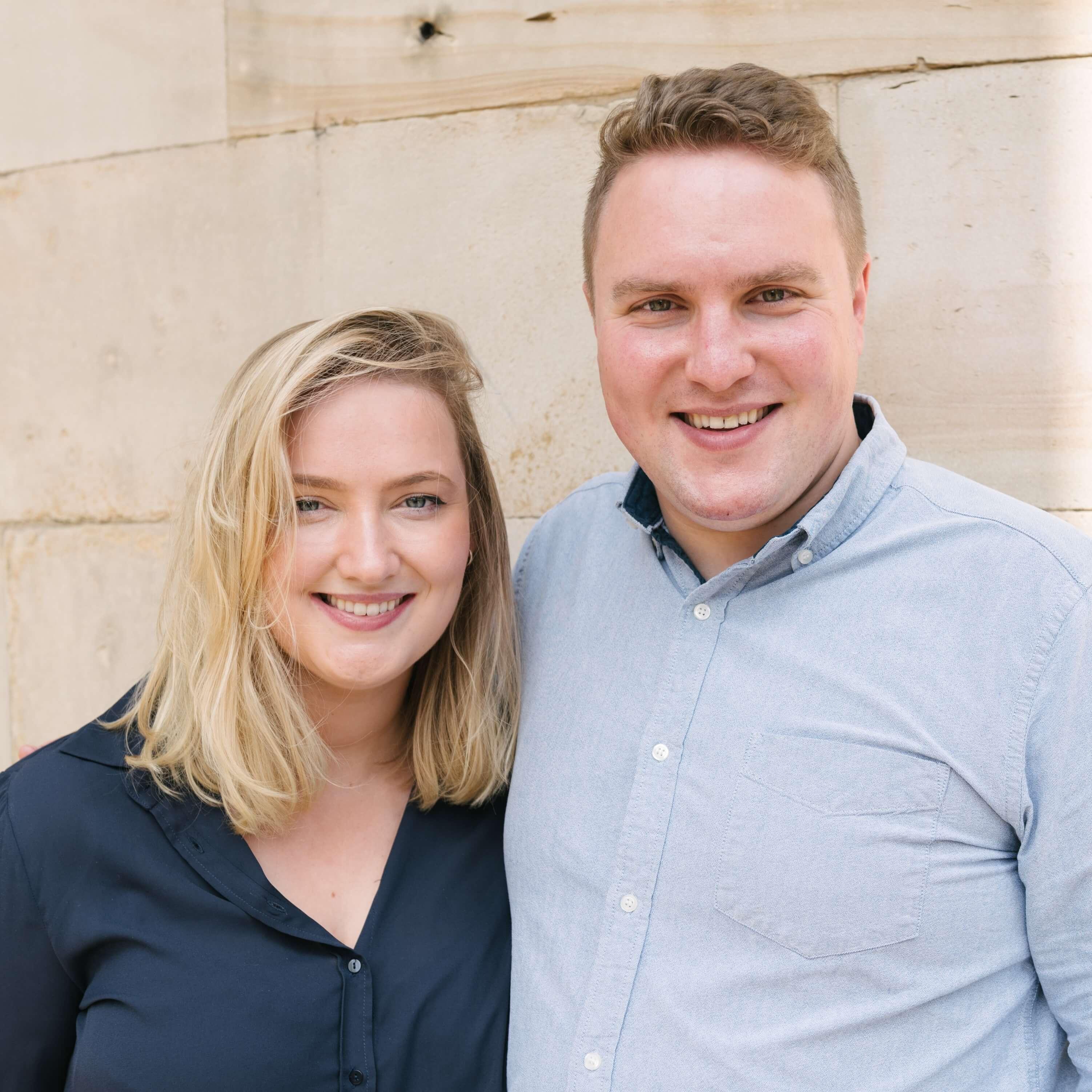 Simon and Sarah Watkinson