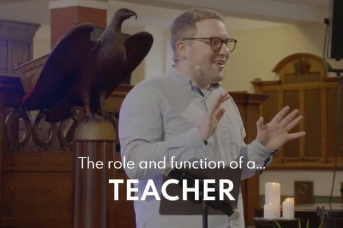The Role and Function of a Teacher