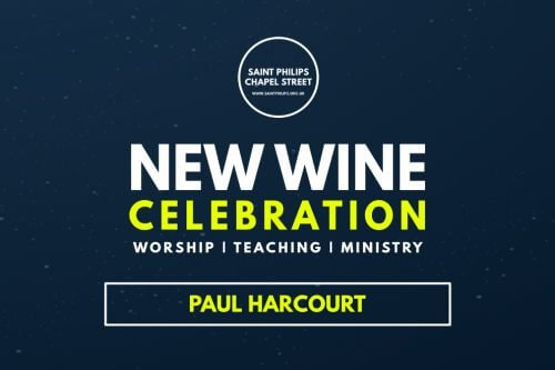 Paul Harcourt New Wine Celebration