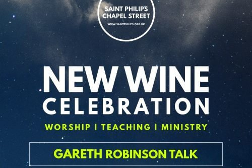Gareth Robinson New Wine Celebration